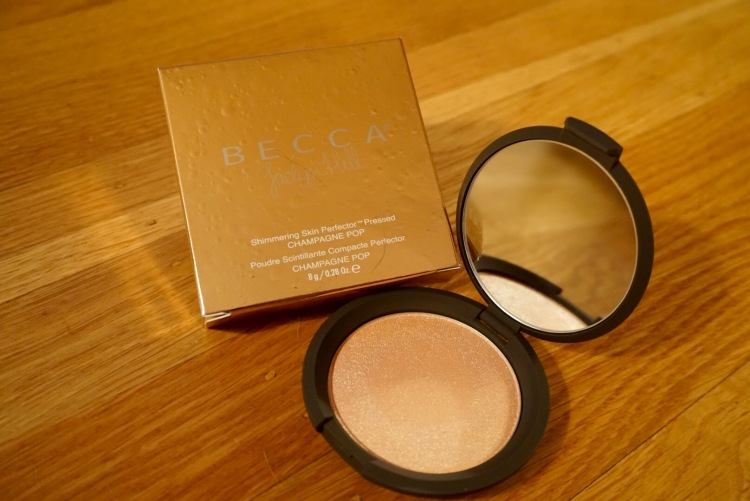 Champagne Pop! Becca shimmering skin perfector colab with Jaclyn Hill!