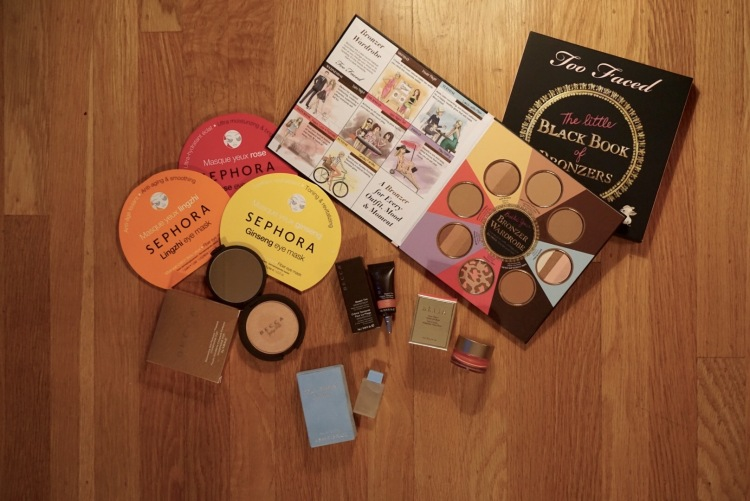 Sephora Haul - Becca, Too Faced, Stila including the Becca & Jaclyn Hill colab - Champagne Pop!
