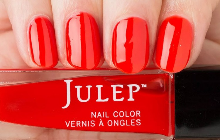 Julep Polish in the shade Poppy.