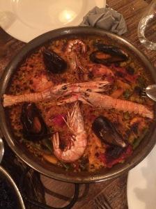 Shrimp Paella #omnomnom