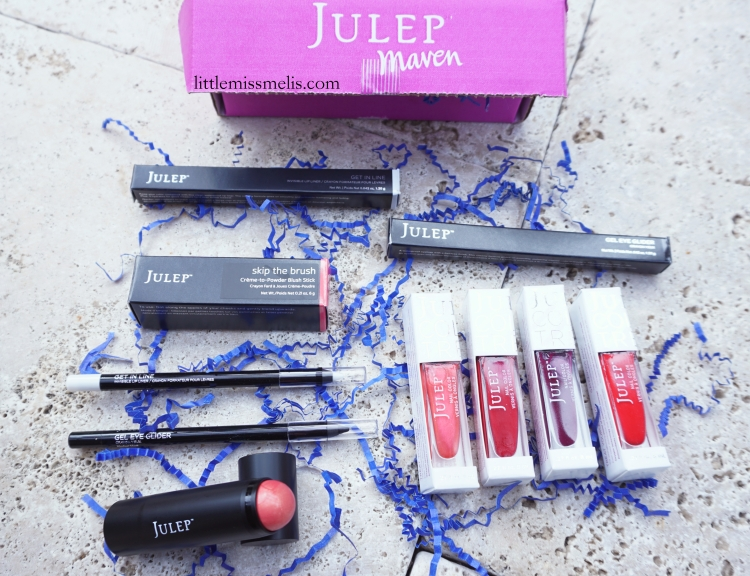 My Custom August 2015 Julep Maven Box