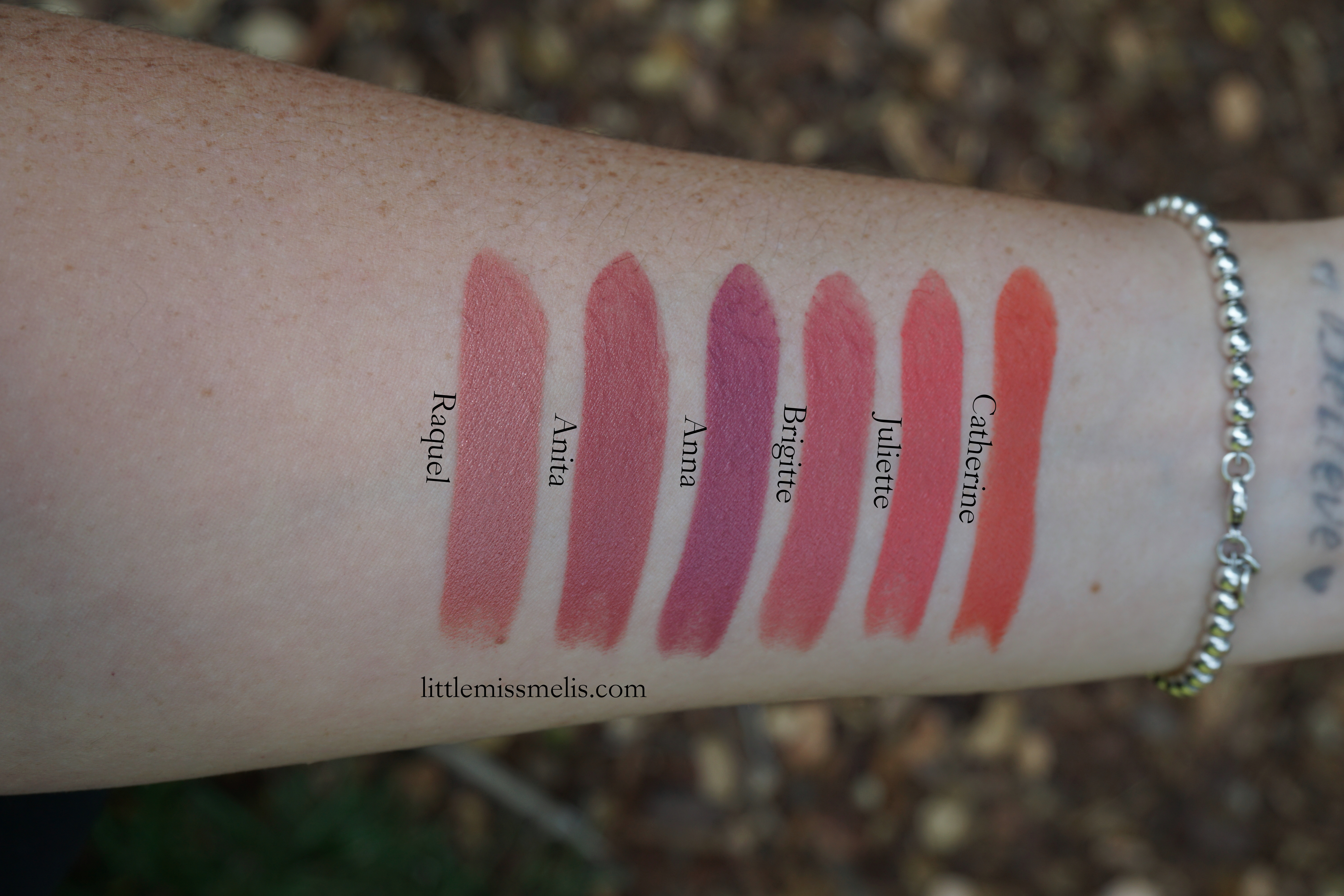 Nars Audacious Lipstick – Review and Swatches – LittleMissMelis