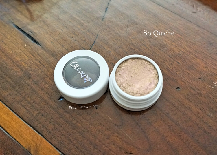 So Quiche - Metallic Finish